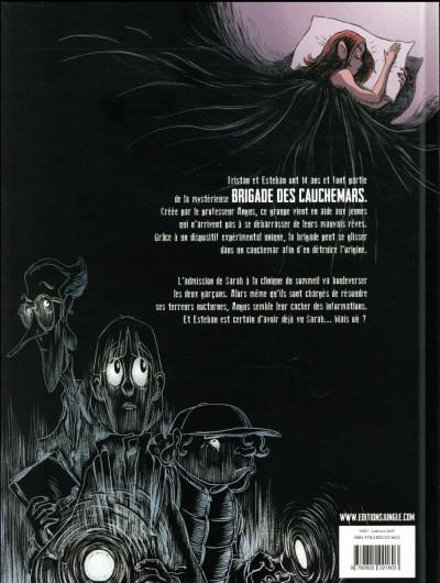 Dos La brigade des cauchemars tome 1