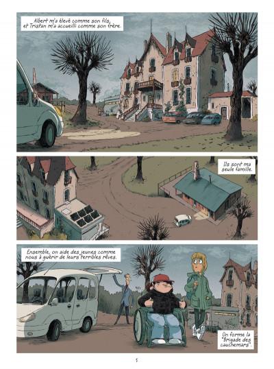 Page 3 La brigade des cauchemars tome 1