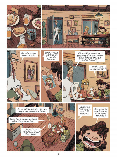 Page 4 La brigade des cauchemars tome 1