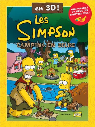 Couverture Les Simpson 3D tome 1