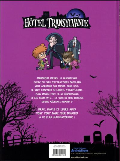 Dos Hôtel transylvanie tome 1