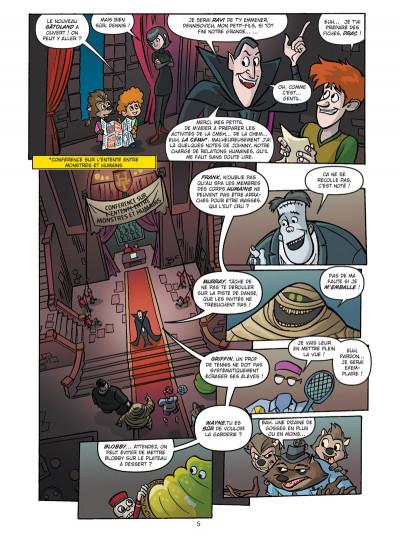 Page 2 Hôtel transylvanie tome 1