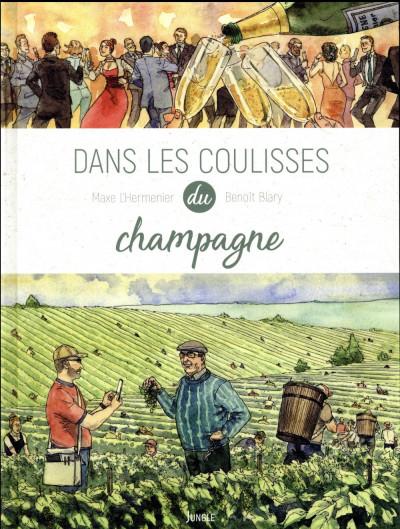 Couverture Dans les coulisses du champagne
