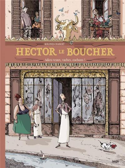 Couverture Hector le boucher
