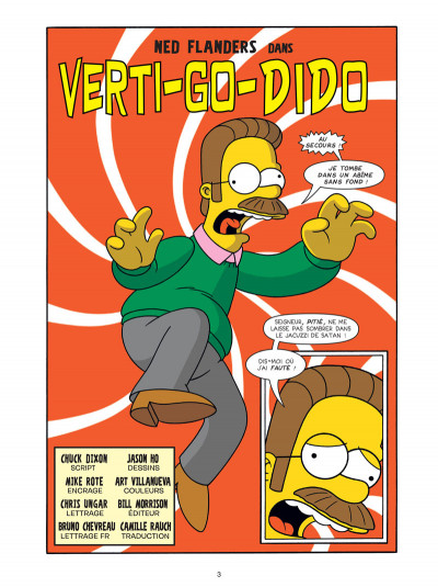 Page 1 Les Simpson tome 35