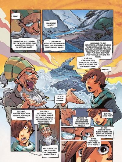 Page 0 La rivière à l'envers tome 1