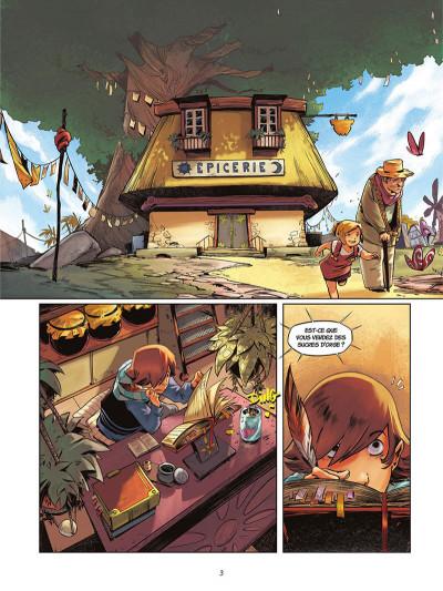 Page 4 La rivière à l'envers tome 1