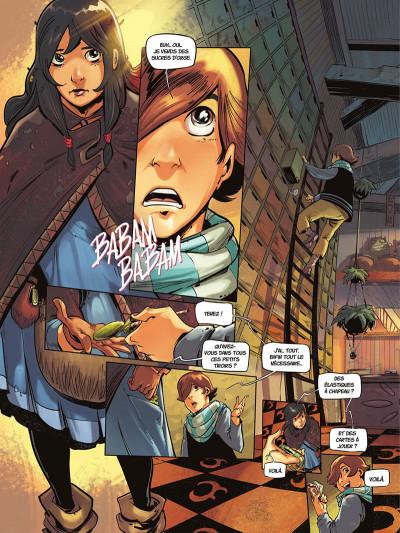 Page 5 La rivière à l'envers tome 1