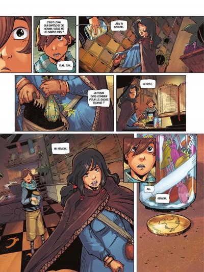 Page 7 La rivière à l'envers tome 1
