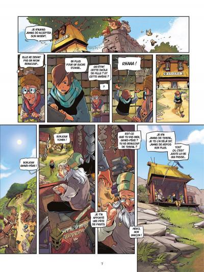 Page 8 La rivière à l'envers tome 1