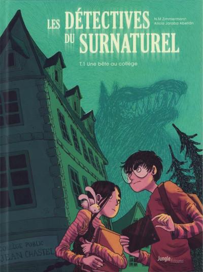 Couverture Les détectives du surnaturel - Une bête au collège
