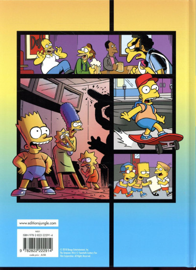 Dos Simpson explosion tome 1