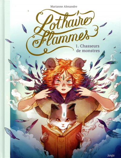 Couverture Lothaire Flammes tome 1