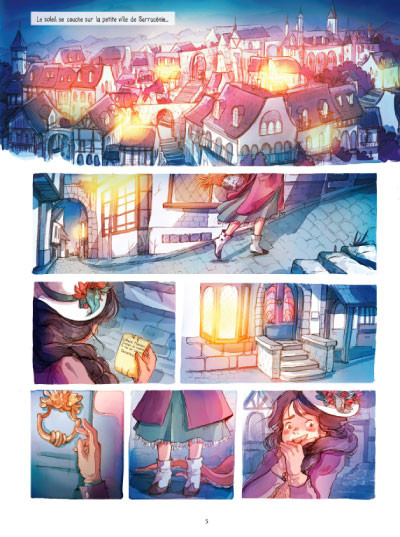 Page 1 Lothaire Flammes tome 1
