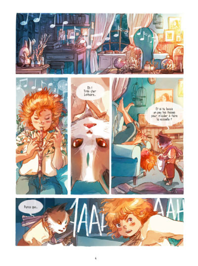 Page 2 Lothaire Flammes tome 1