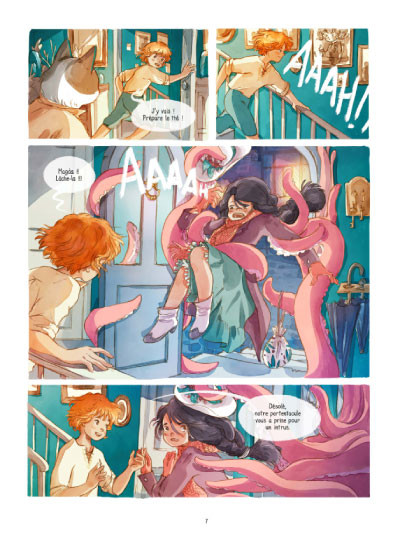 Page 3 Lothaire Flammes tome 1