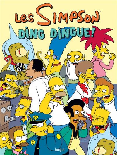 Couverture Les Simpson tome 37