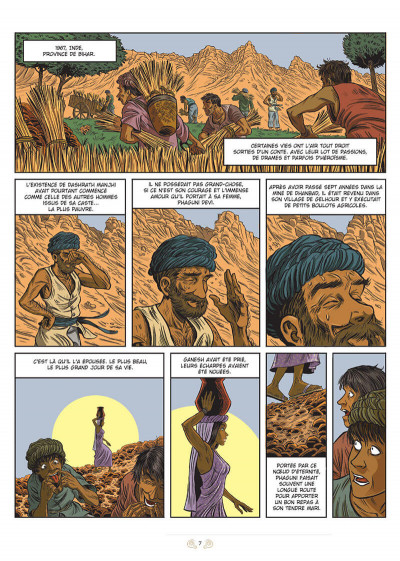 Page 1 L'homme qui traversait les montagnes