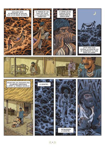 Page 3 L'homme qui traversait les montagnes