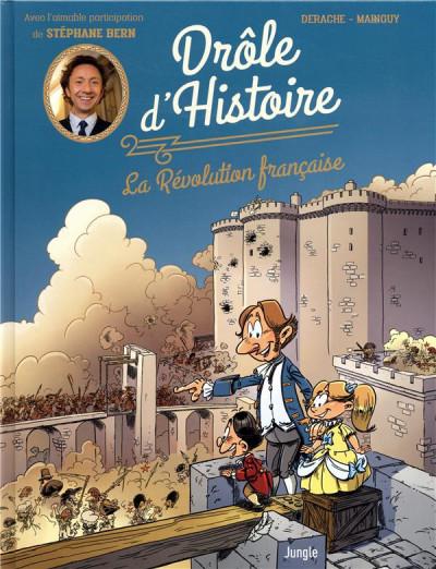 Couverture Drôle d'histoire - La révolution française