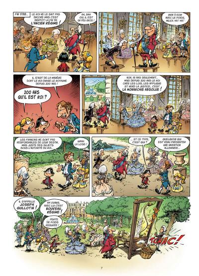 Page 3 Drôle d'histoire - La révolution française
