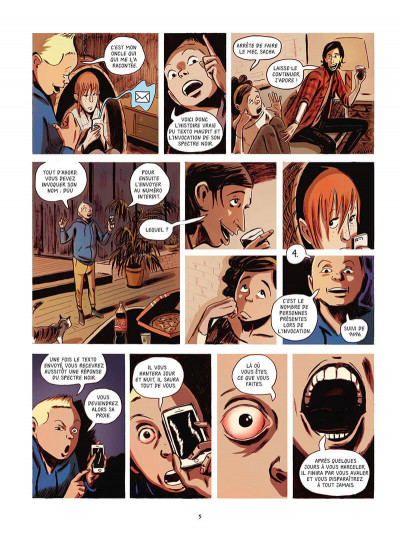 Page 6 Texto maudit tome 1