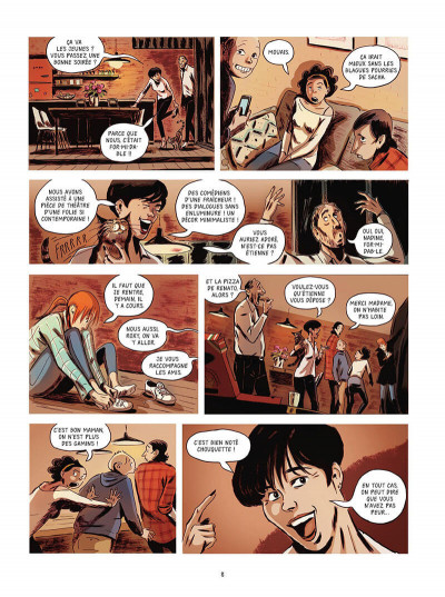 Page 9 Texto maudit tome 1