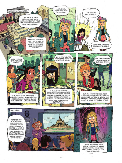 Page 7 Les gardiens de la pierre tome 1