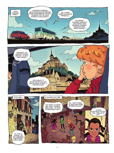 Page 8 Les gardiens de la pierre tome 1