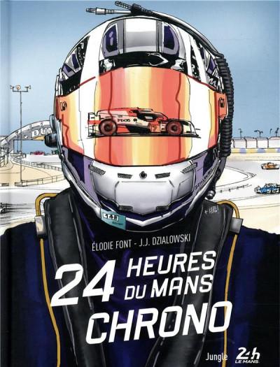 Couverture Dans les coulisses des 24h du Mans