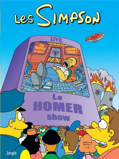 Couverture Les simpson tome 38