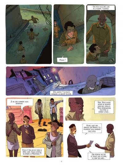 Page 6 Le réseau Papillon tome 3