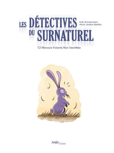 Page 1 Les détectives du surnaturel tome 2