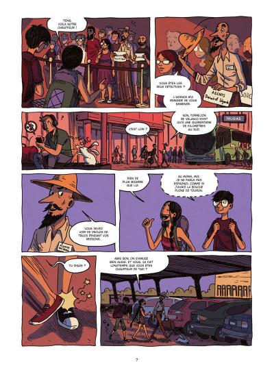 Page 7 Les détectives du surnaturel tome 2