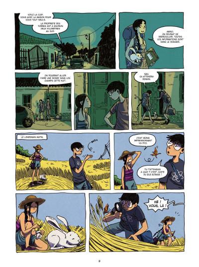 Page 9 Les détectives du surnaturel tome 2