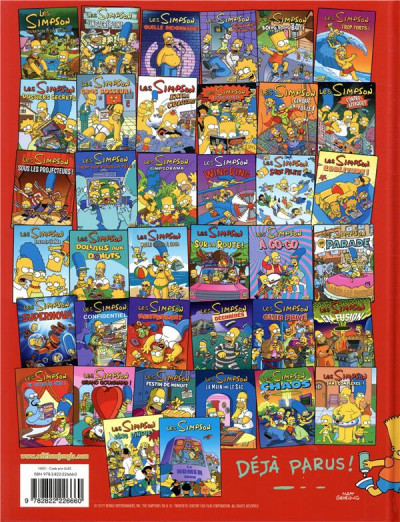 Dos Les Simpson tome 39