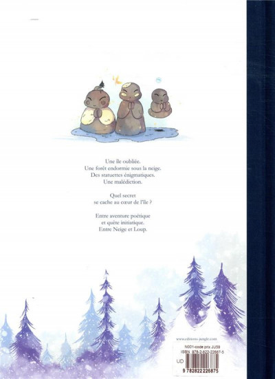 Dos Entre neige et loup