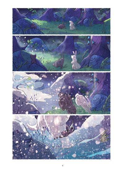 Page 5 Entre neige et loup