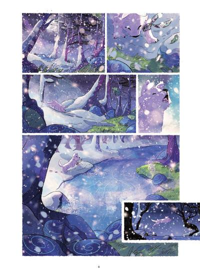 Page 6 Entre neige et loup