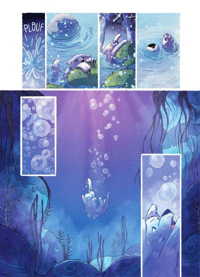 Page 7 Entre neige et loup