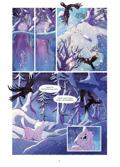 Page 8 Entre neige et loup