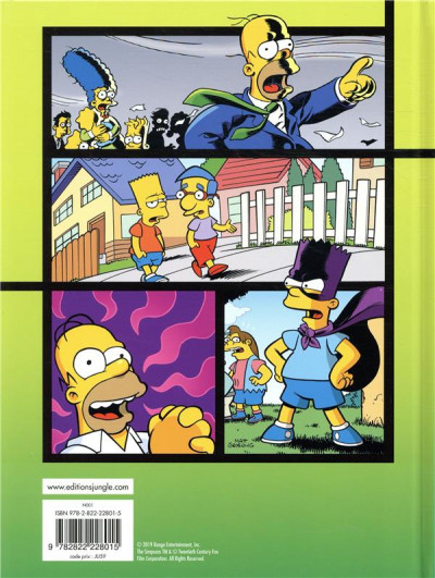Dos Simpson explosion tome 2