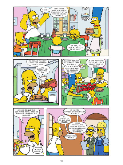 Page 0 Les Simpson tome 40