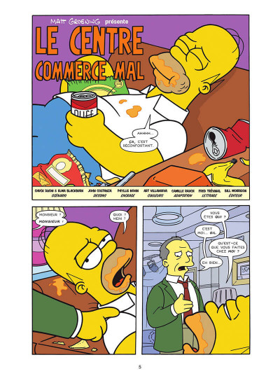 Page 5 Les Simpson tome 40