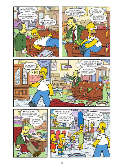 Page 6 Les Simpson tome 40