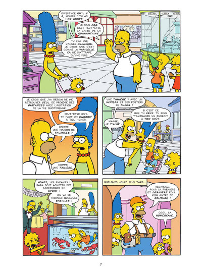 Page 7 Les Simpson tome 40