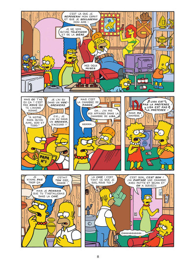 Page 8 Les Simpson tome 40