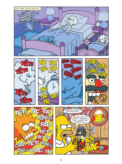 Page 9 Les Simpson tome 40