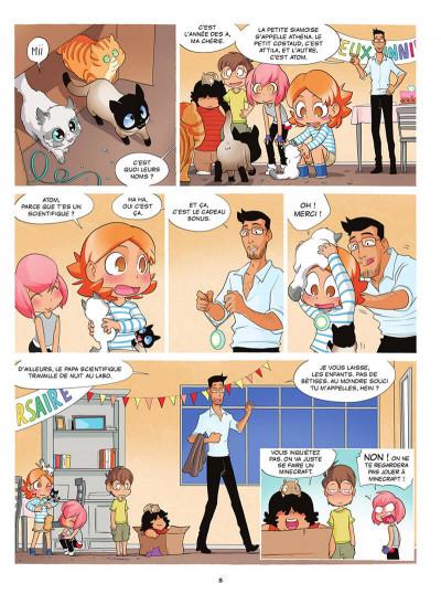 Page 8 Chatons VS tome 1
