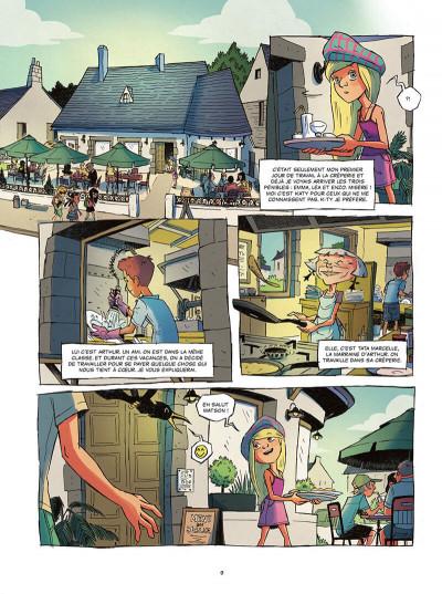 Page 9 Les gardiens de la pierre tome 2
